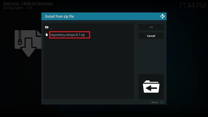 how to install Numbers Addon on Kodi